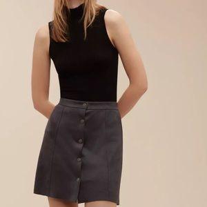 NWT Aritzia Wilfred Free Centinela Skirt size 00